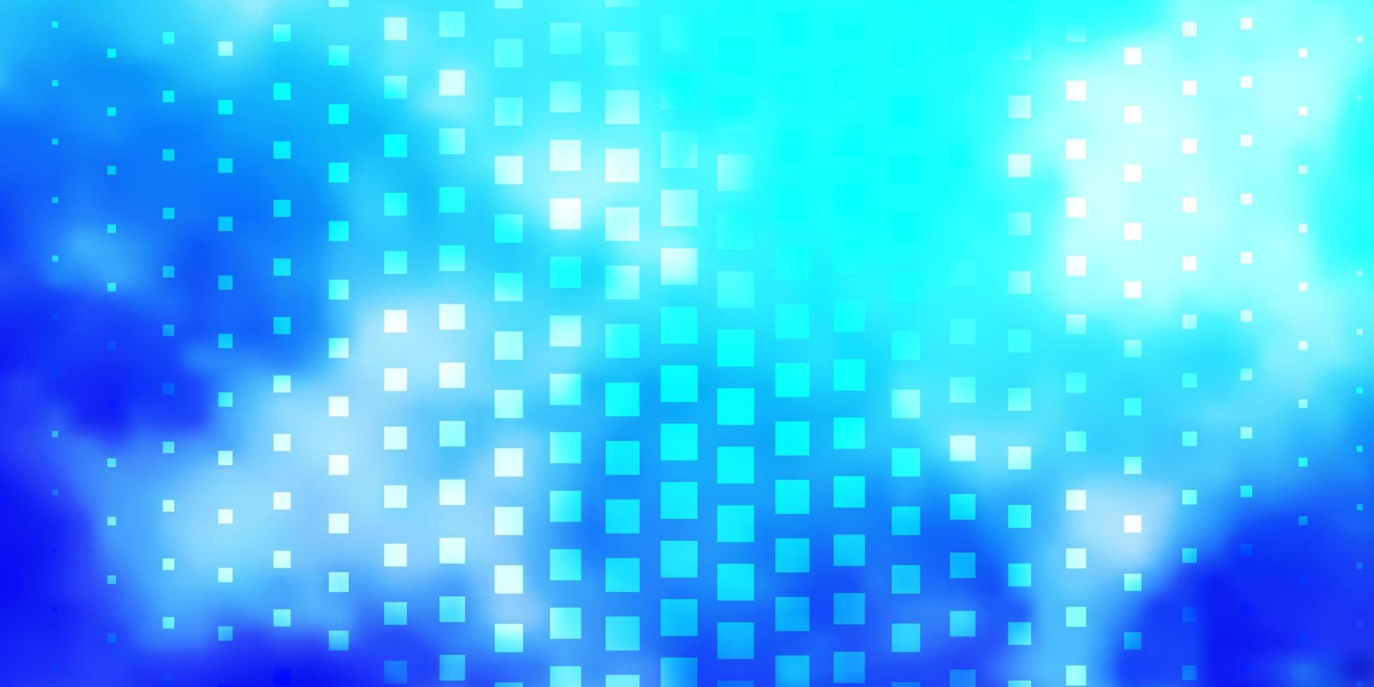 padrão de vetor azul claro em estilo quadrado.