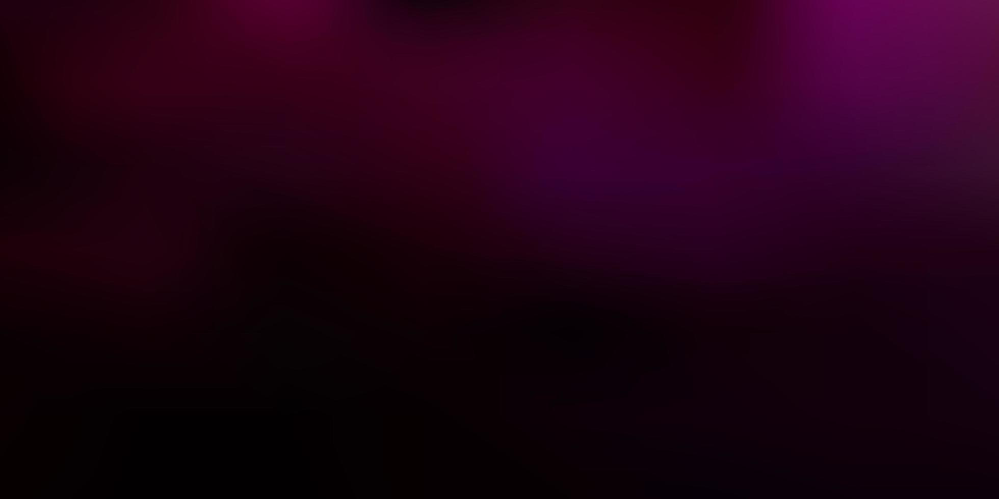 fundo de borrão de vetor rosa escuro.