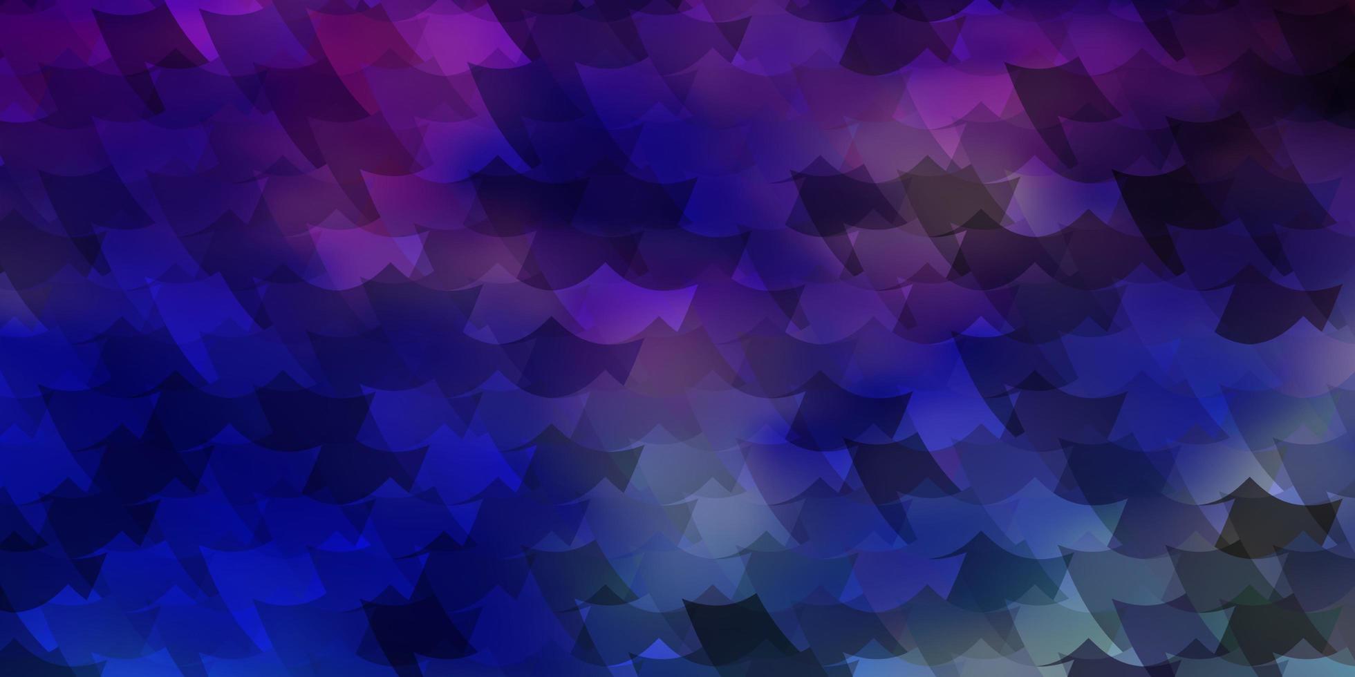 luz de fundo vector multicolor com retângulos.