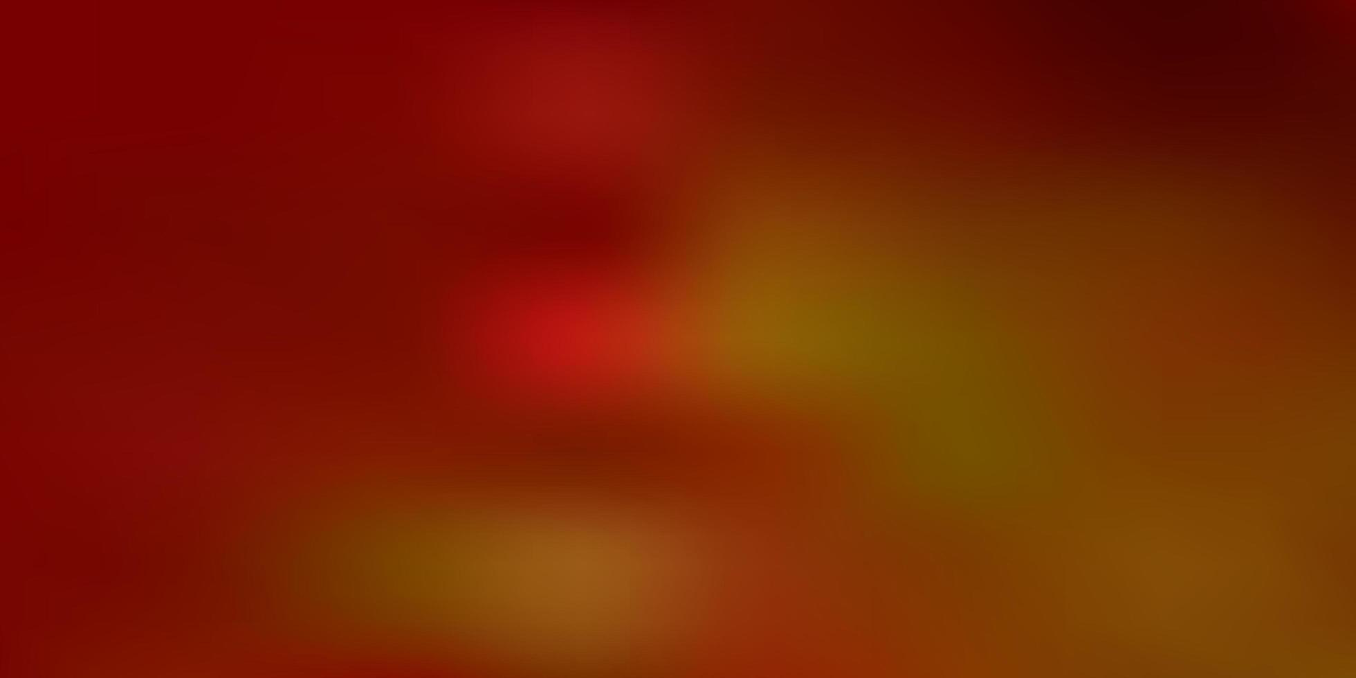 textura de desfoque de gradiente de vetor laranja claro.