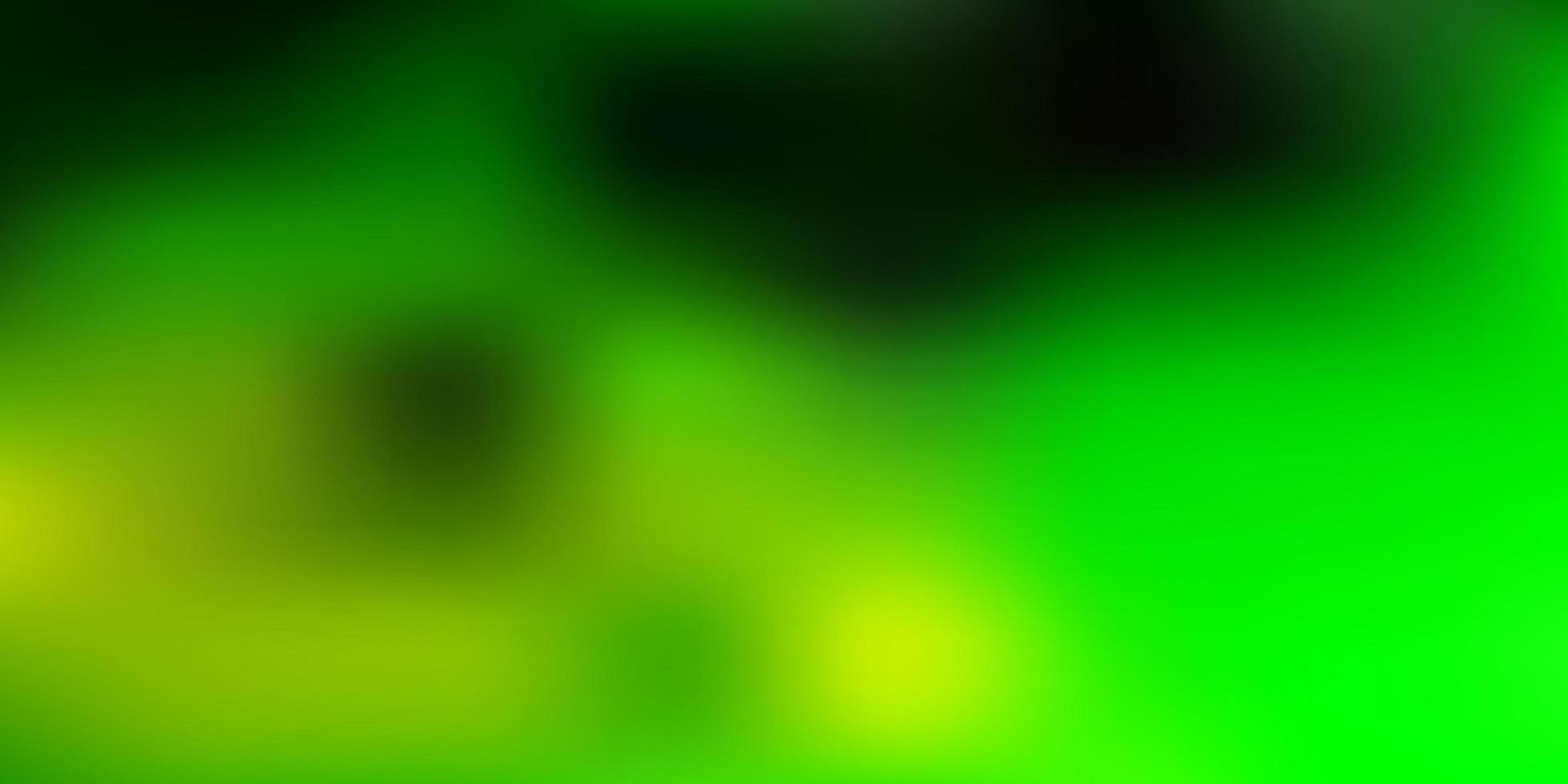 luz verde, amarelo vetor turva padrão.