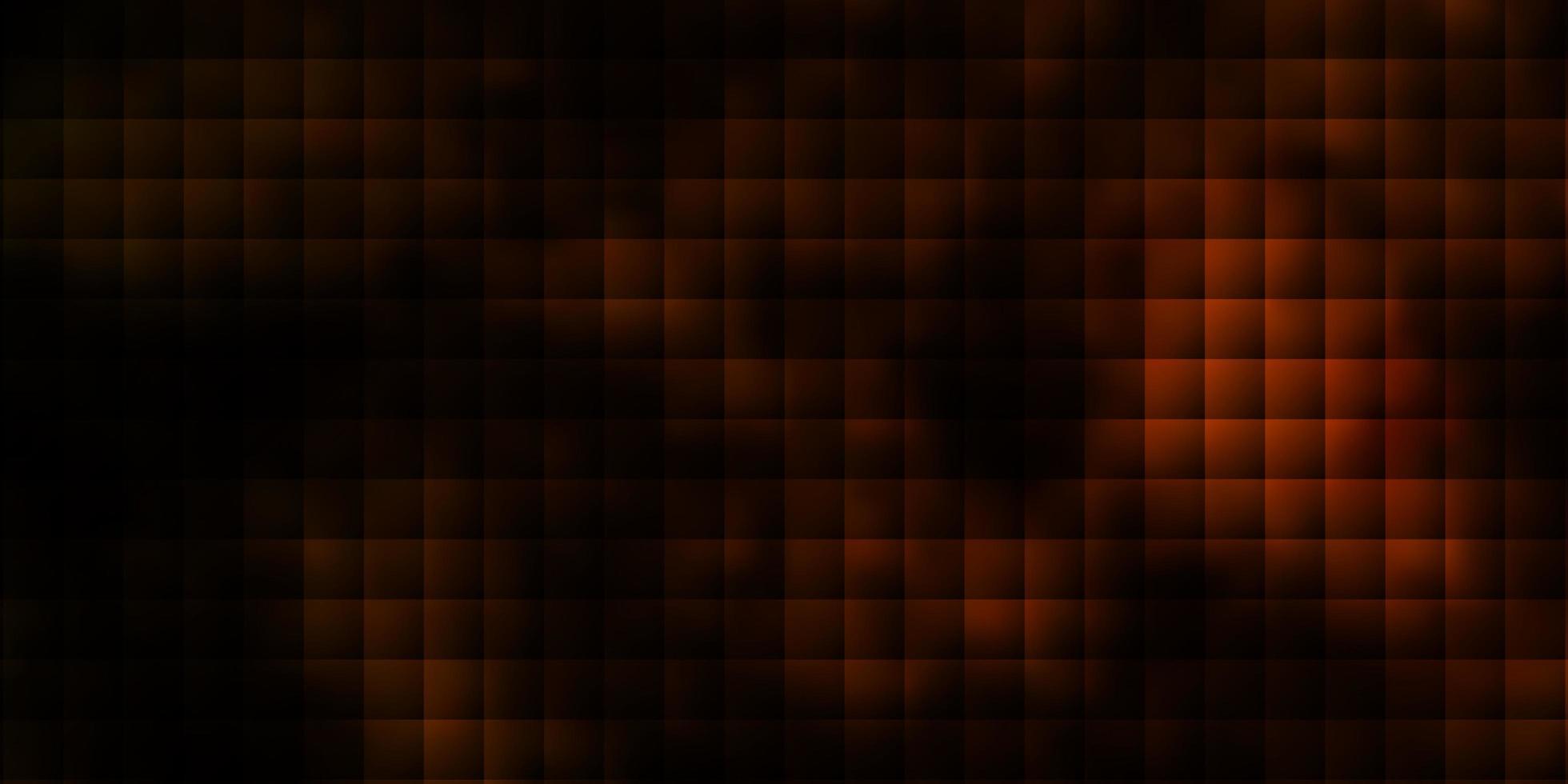 fundo laranja escuro do vetor no estilo poligonal.