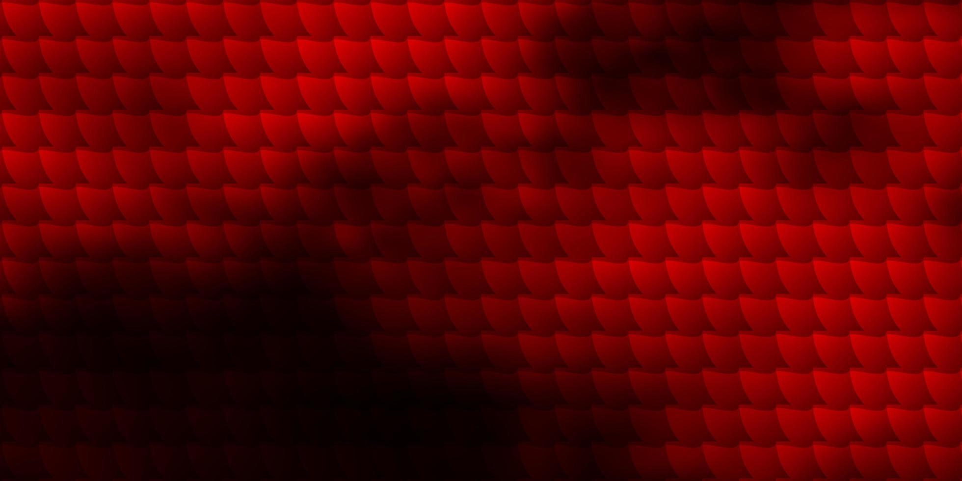 layout de vetor de laranja escuro com linhas, retângulos.