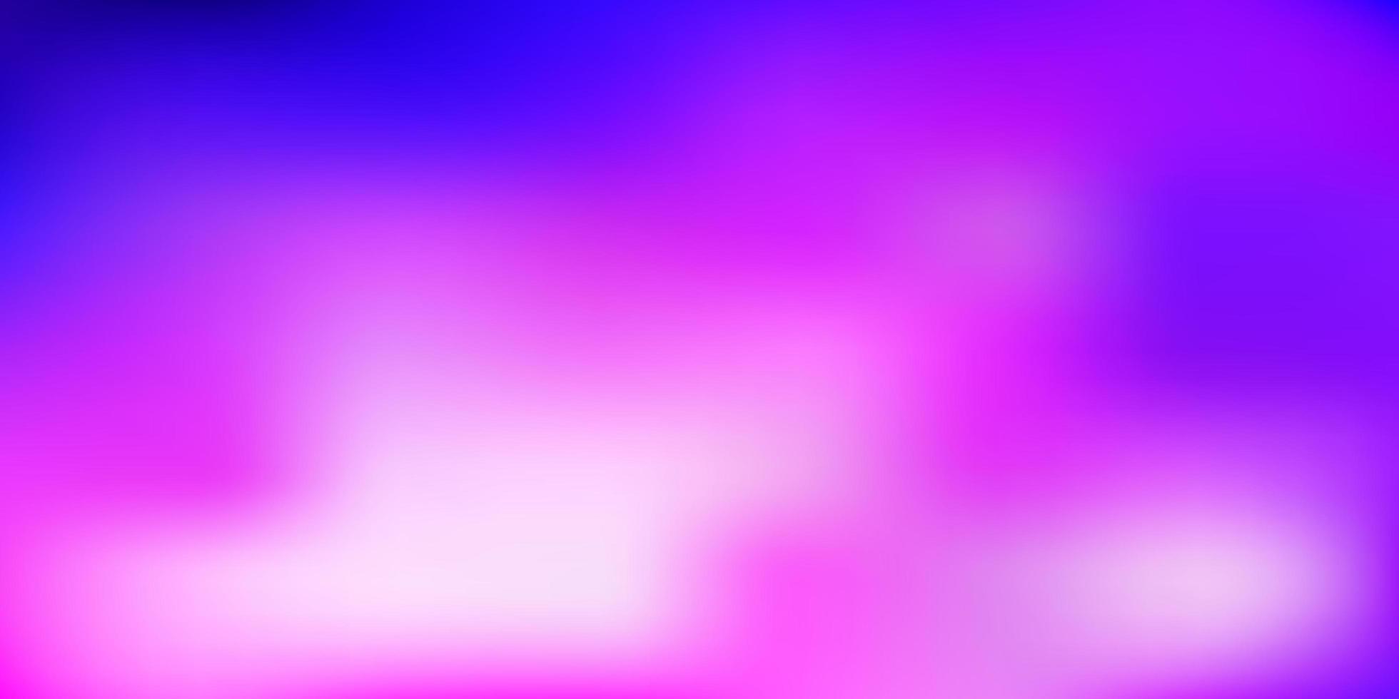 luz turva vector roxo, rosa textura.