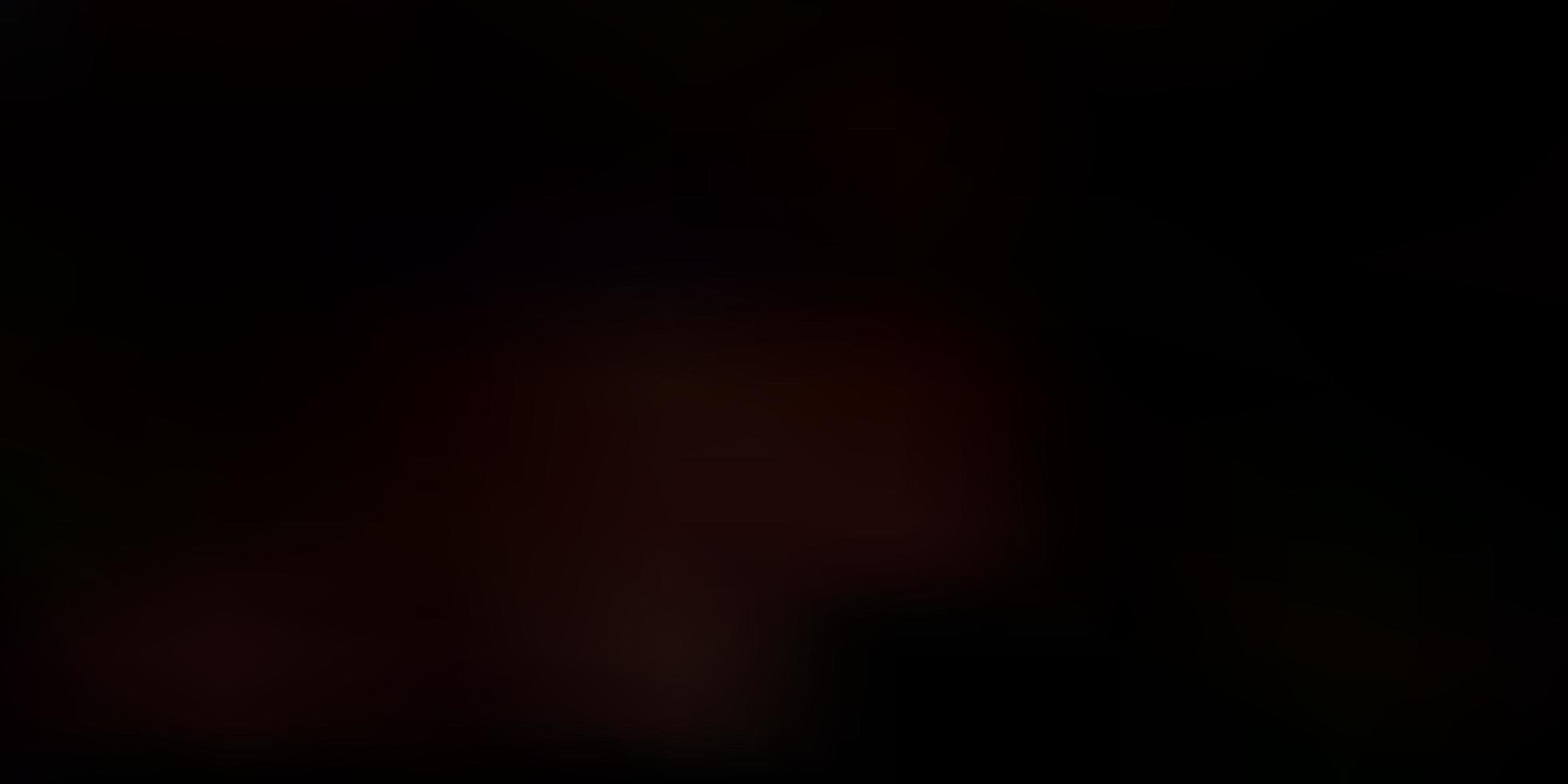 padrão de desfoque de vetor laranja escuro.
