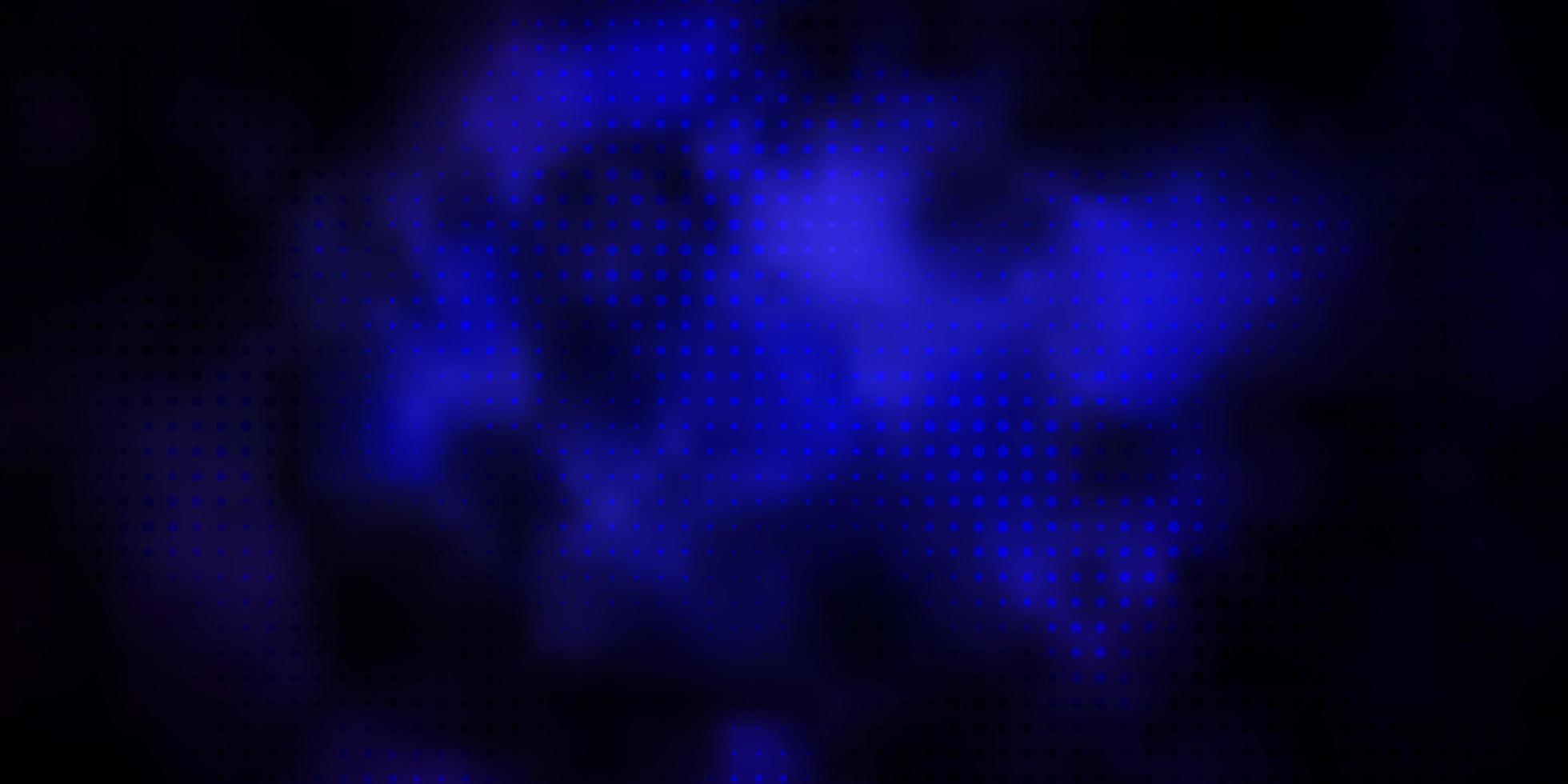 layout de vetor de rosa escuro, azul com círculos.