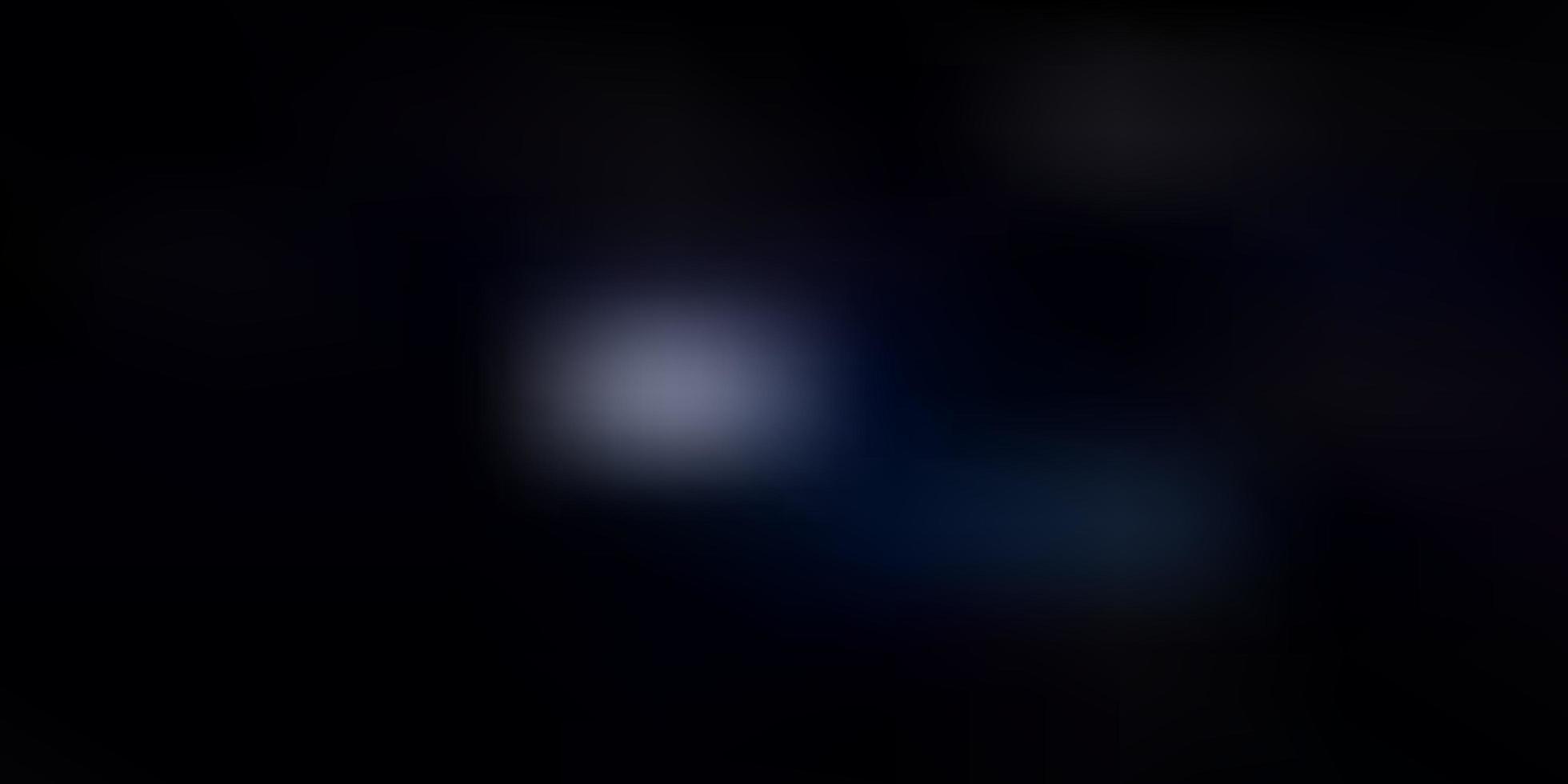 cenário de desfoque de gradiente vector azul escuro.