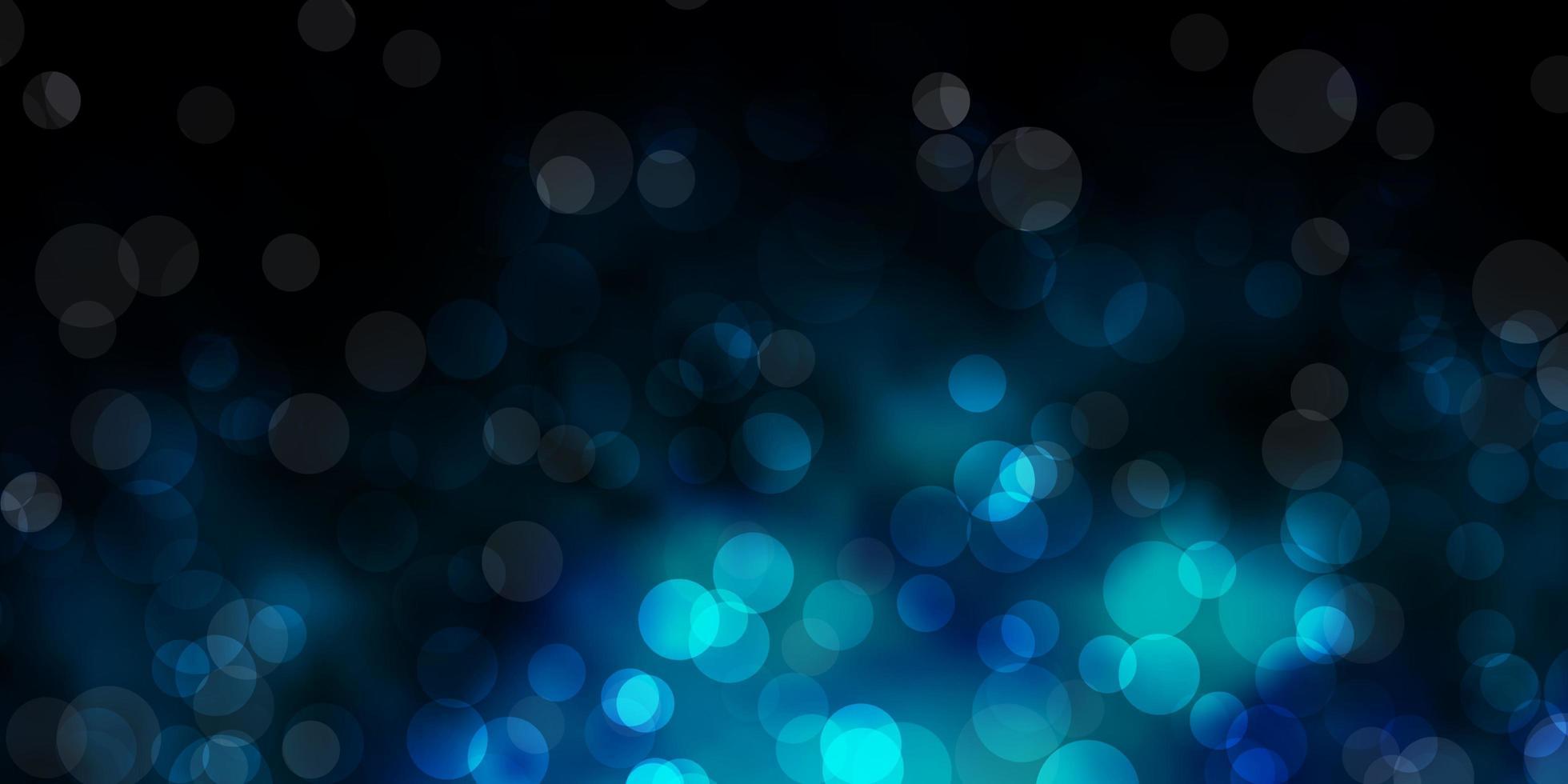 textura vector azul escuro com discos.
