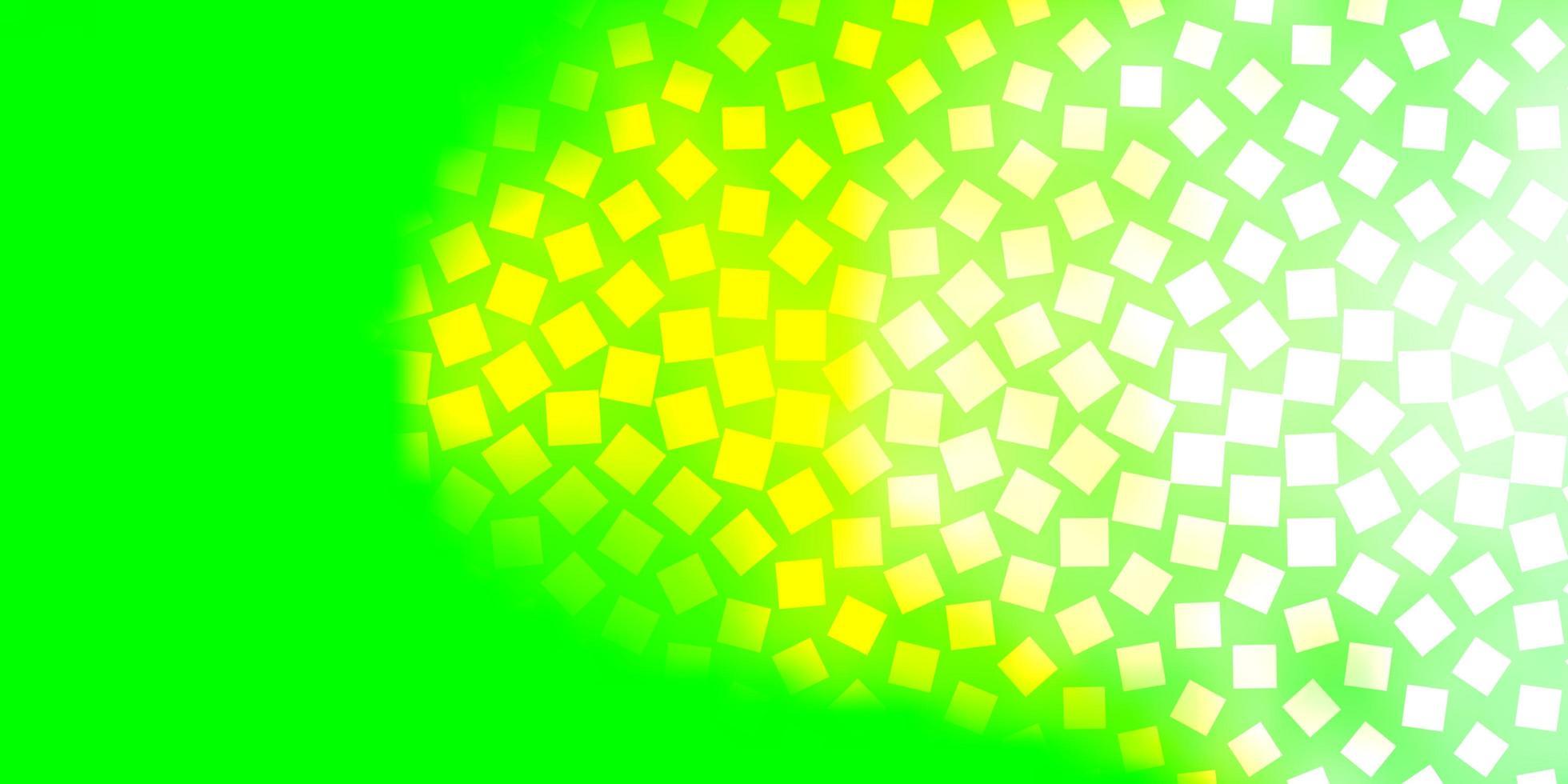 layout de vetor verde claro com linhas, retângulos.