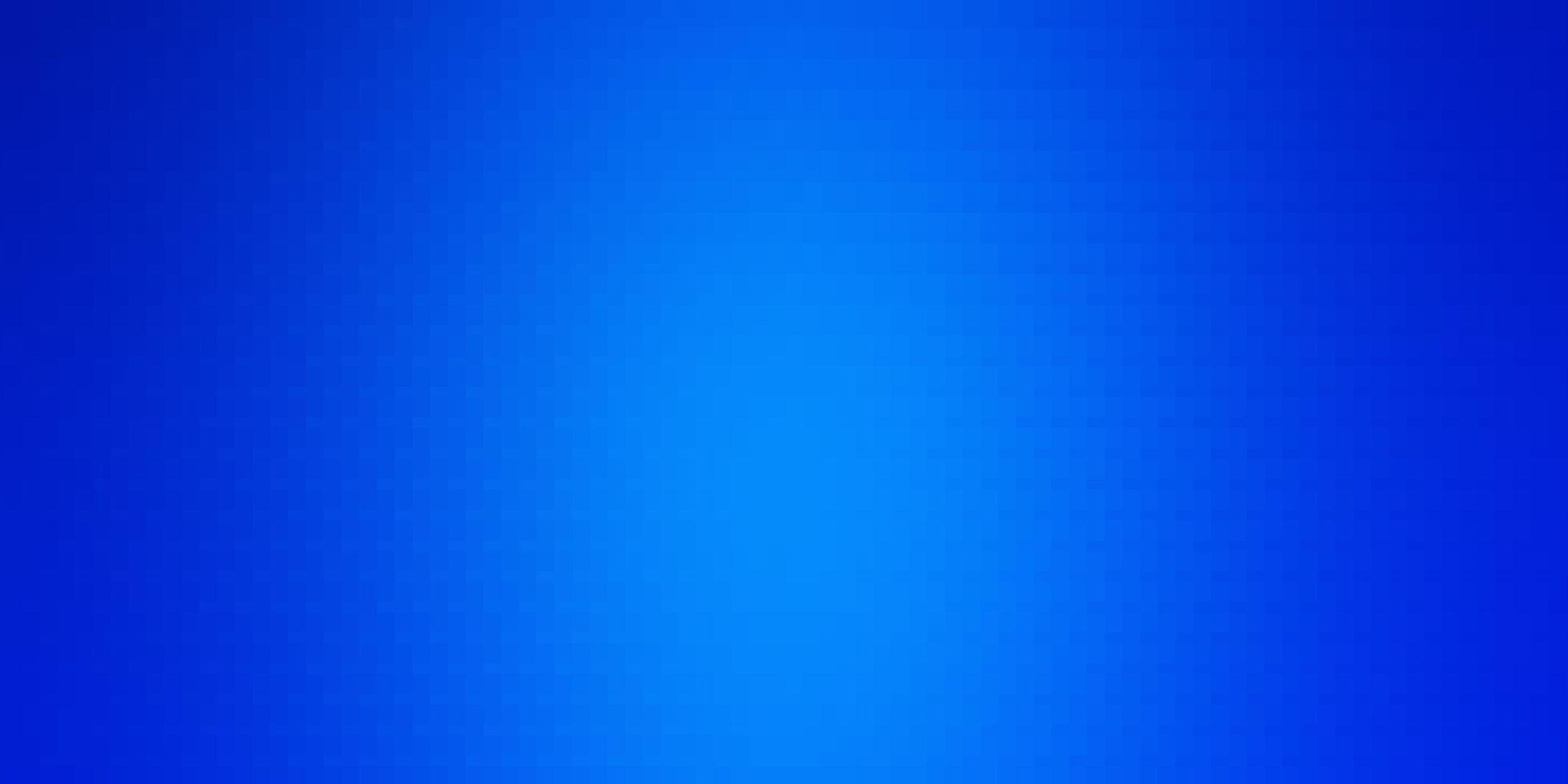 layout de vetor de azul claro com linhas, retângulos.