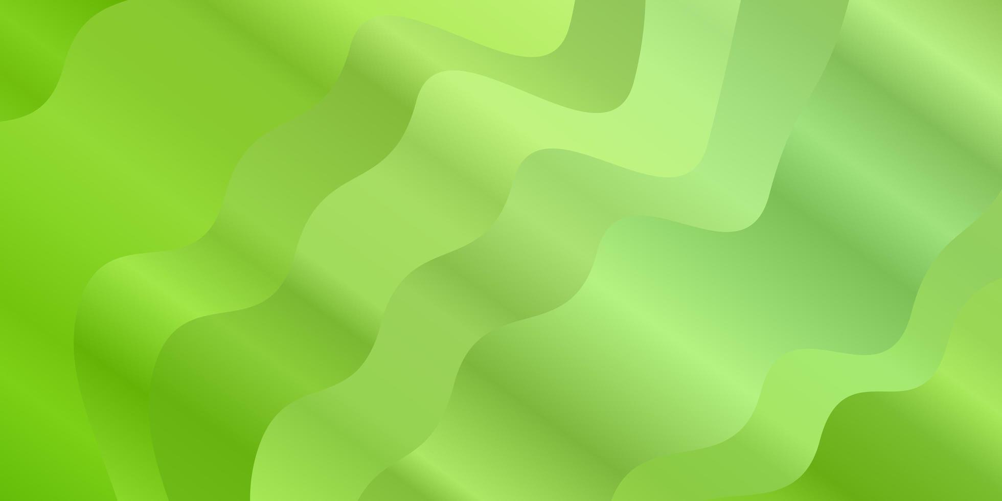 cenário de vetor verde claro com arco circular.
