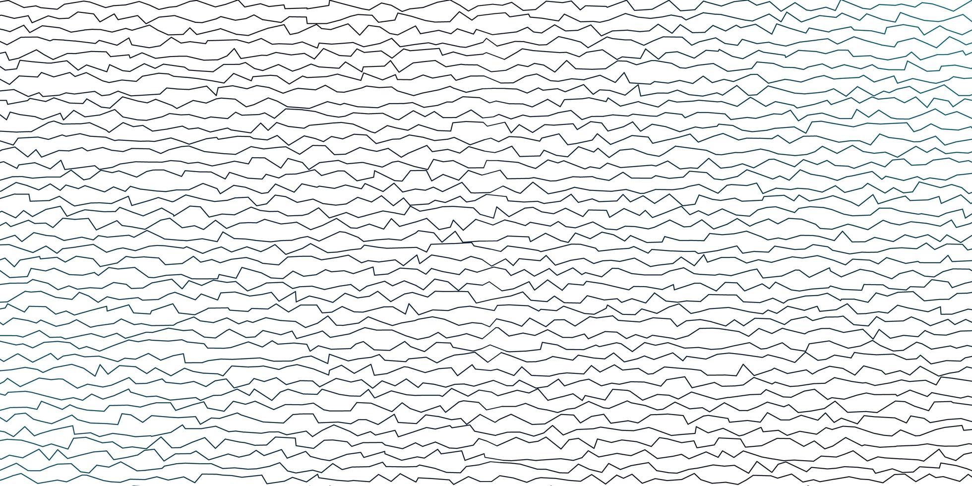 padrão de vetor azul escuro com linhas irônicas.