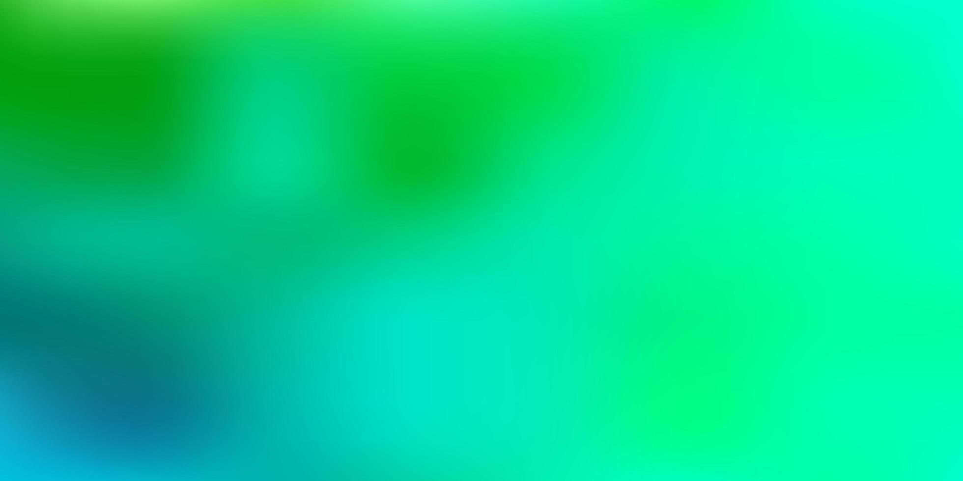textura do borrão do sumário do vetor verde claro.