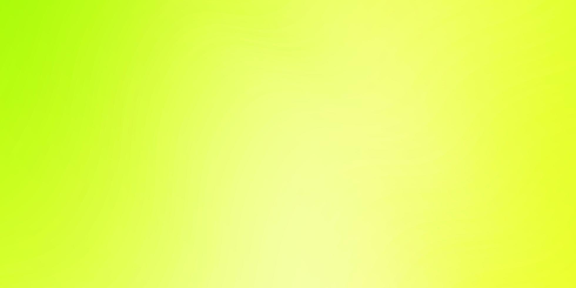 modelo de vetor verde e amarelo claro com linhas curvas.