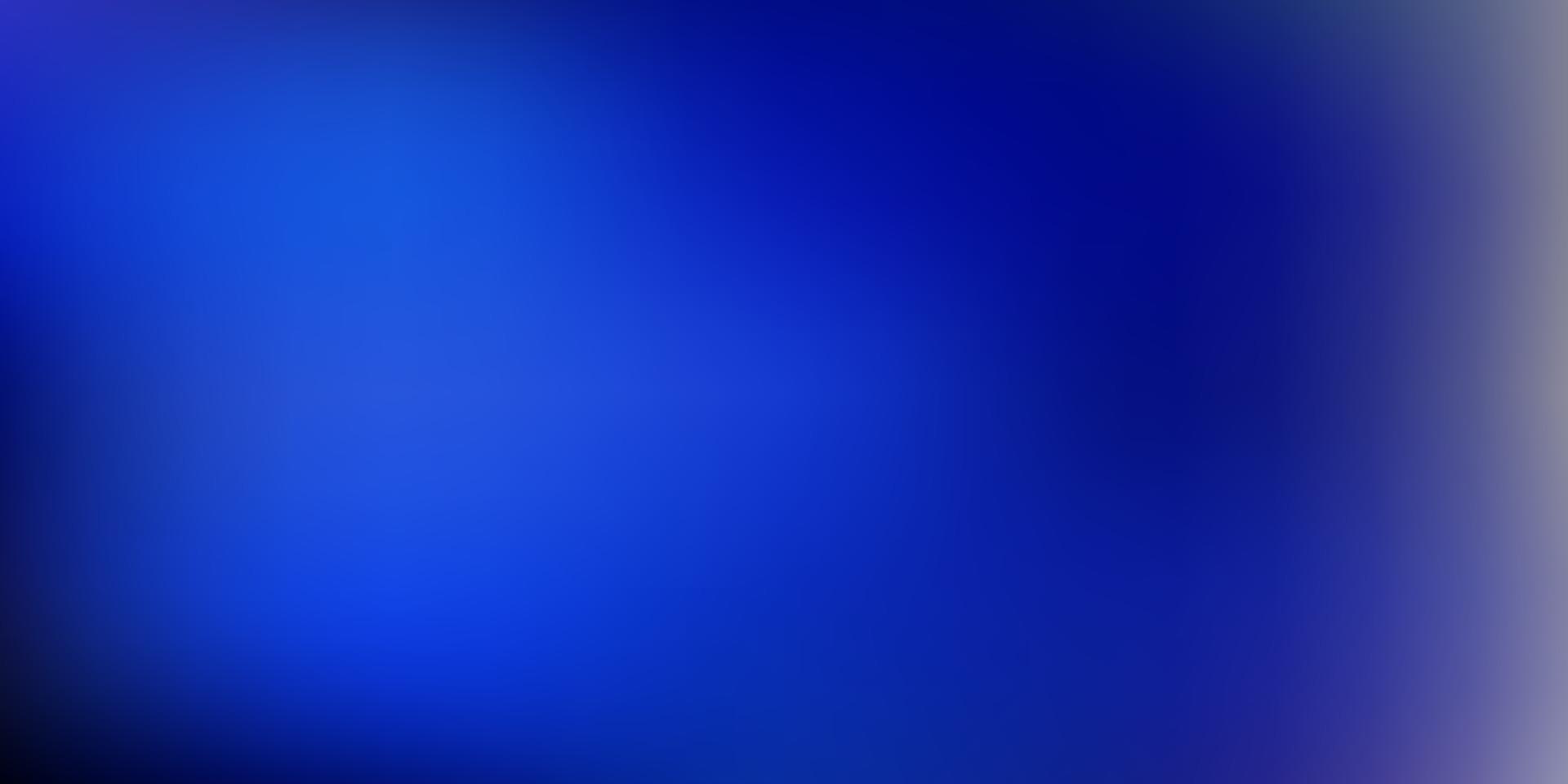 textura de desfoque de gradiente de vetor azul escuro.