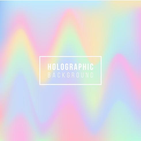 Contexto holográfico vetor