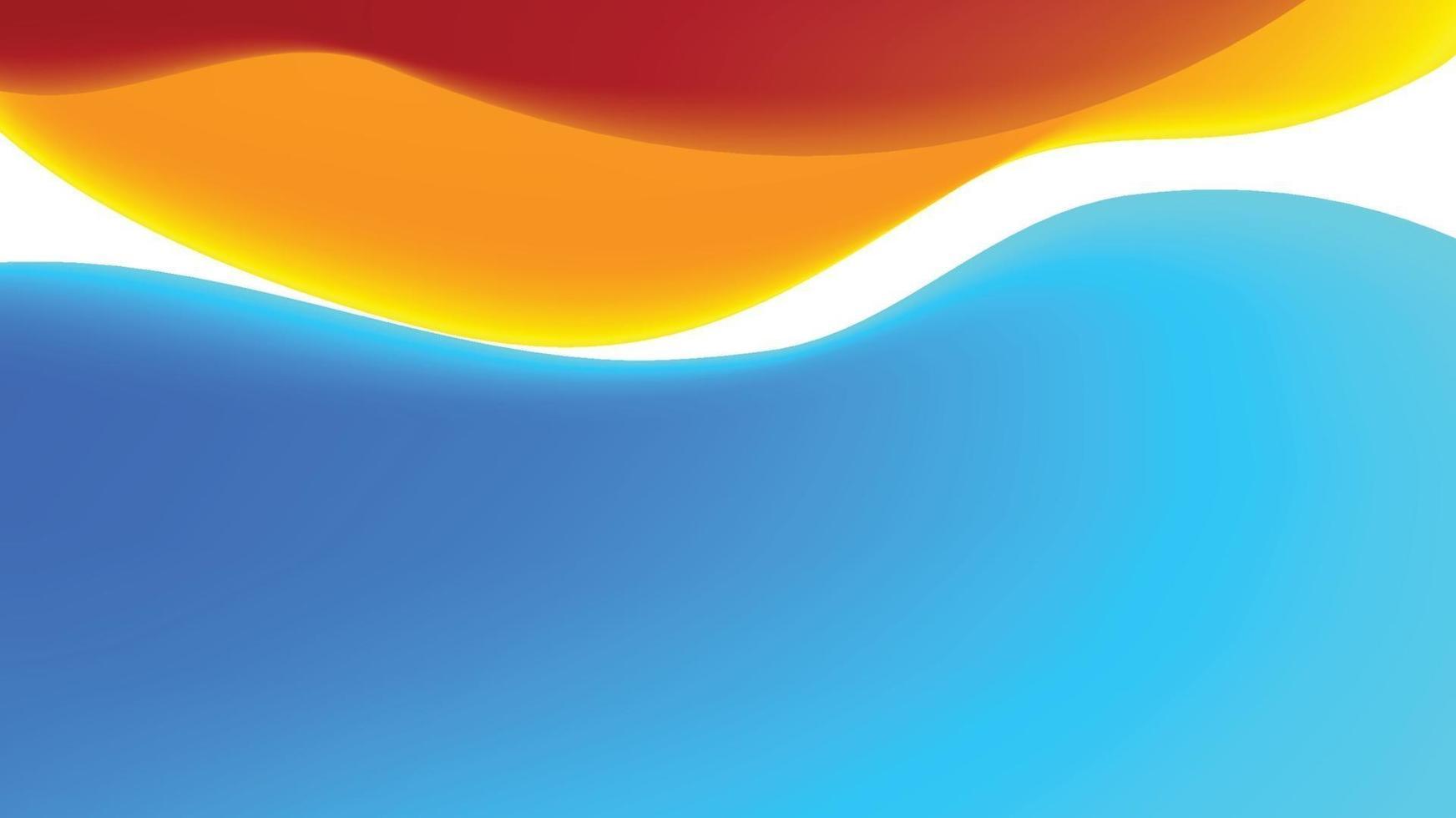 imagem de fundo colorida com misturas sobrepostas vetor