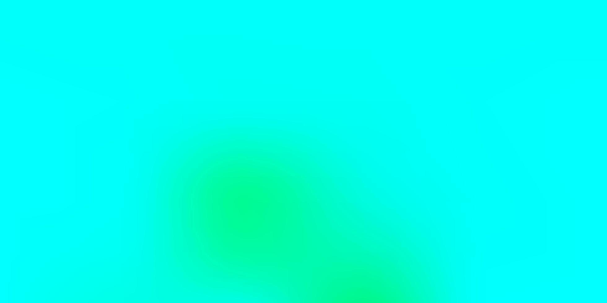 modelo de desfoque de gradiente de vetor verde claro.