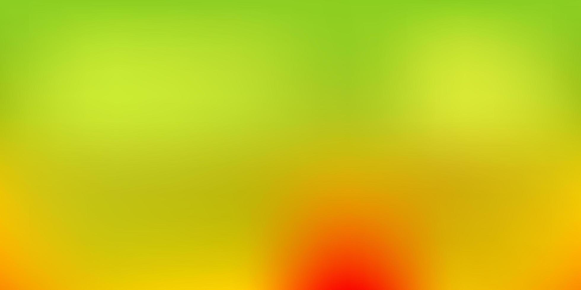 textura de desfoque de vetor verde e amarelo escuro.