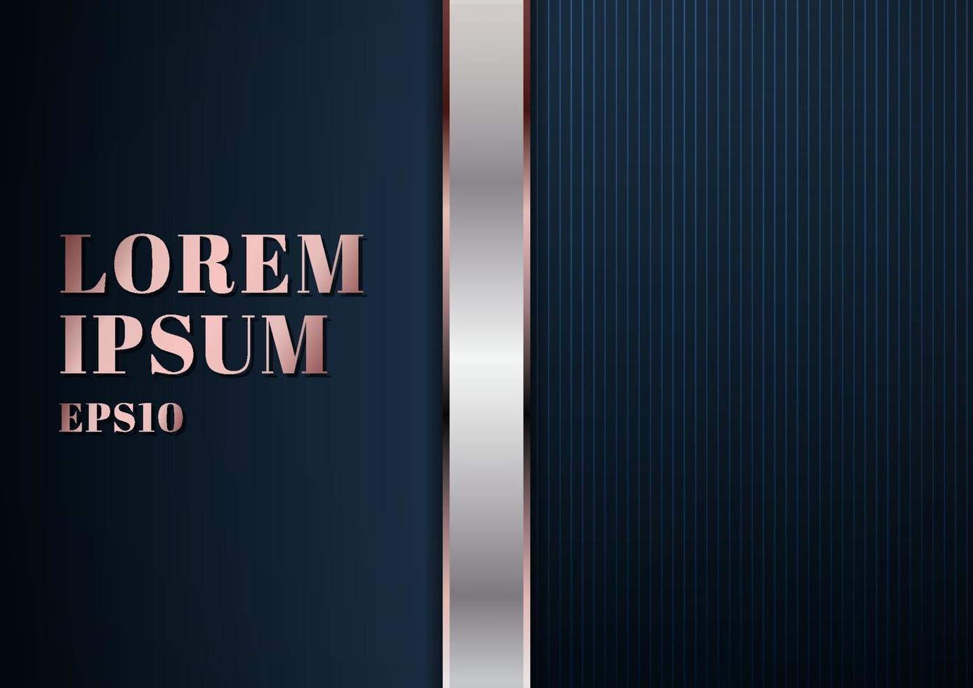 modelo moderno abstrato fundo azul escuro vetor