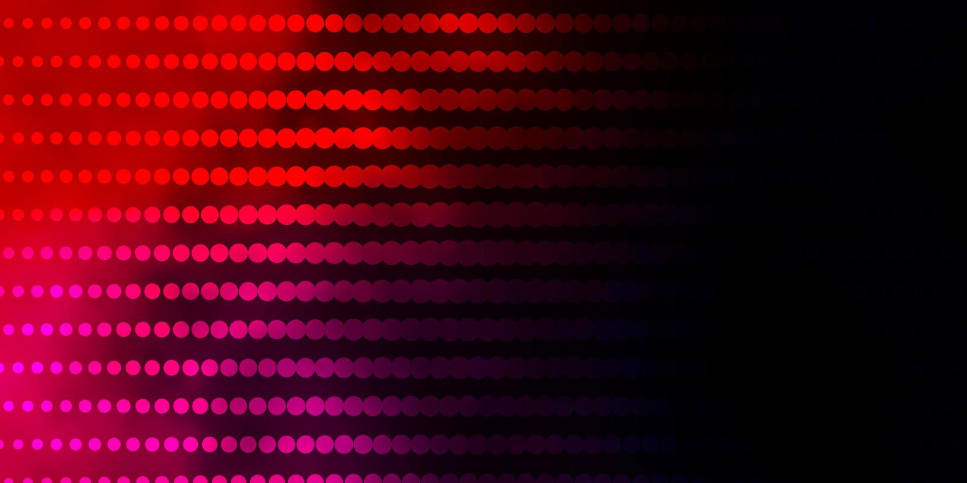 modelo de vetor azul escuro, vermelho com círculos.