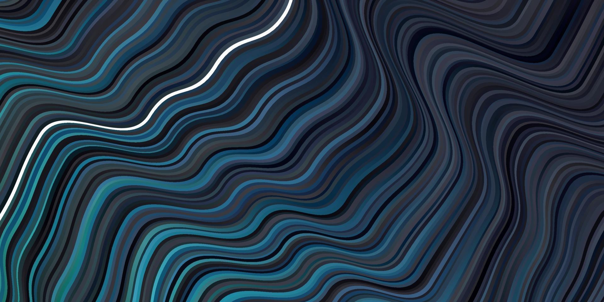 layout de vetor de azul escuro e verde com curvas.
