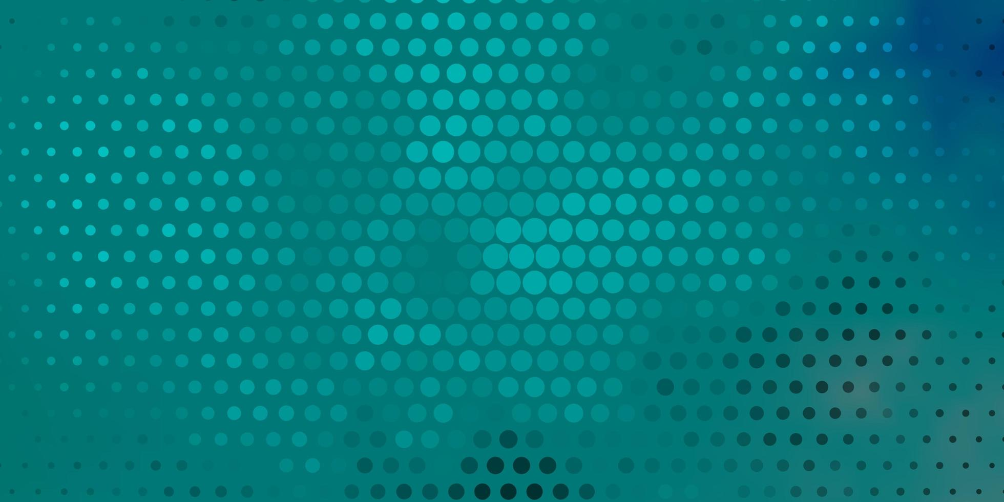 fundo vector azul e verde escuro com círculos.