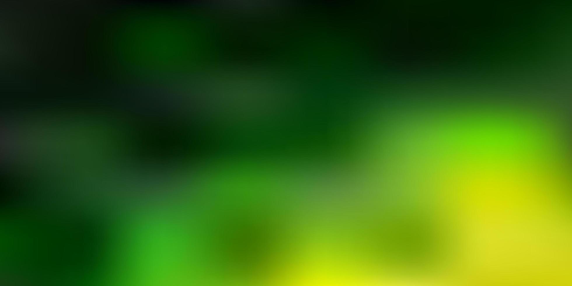 textura de desfoque de vetor verde e vermelho escuro.