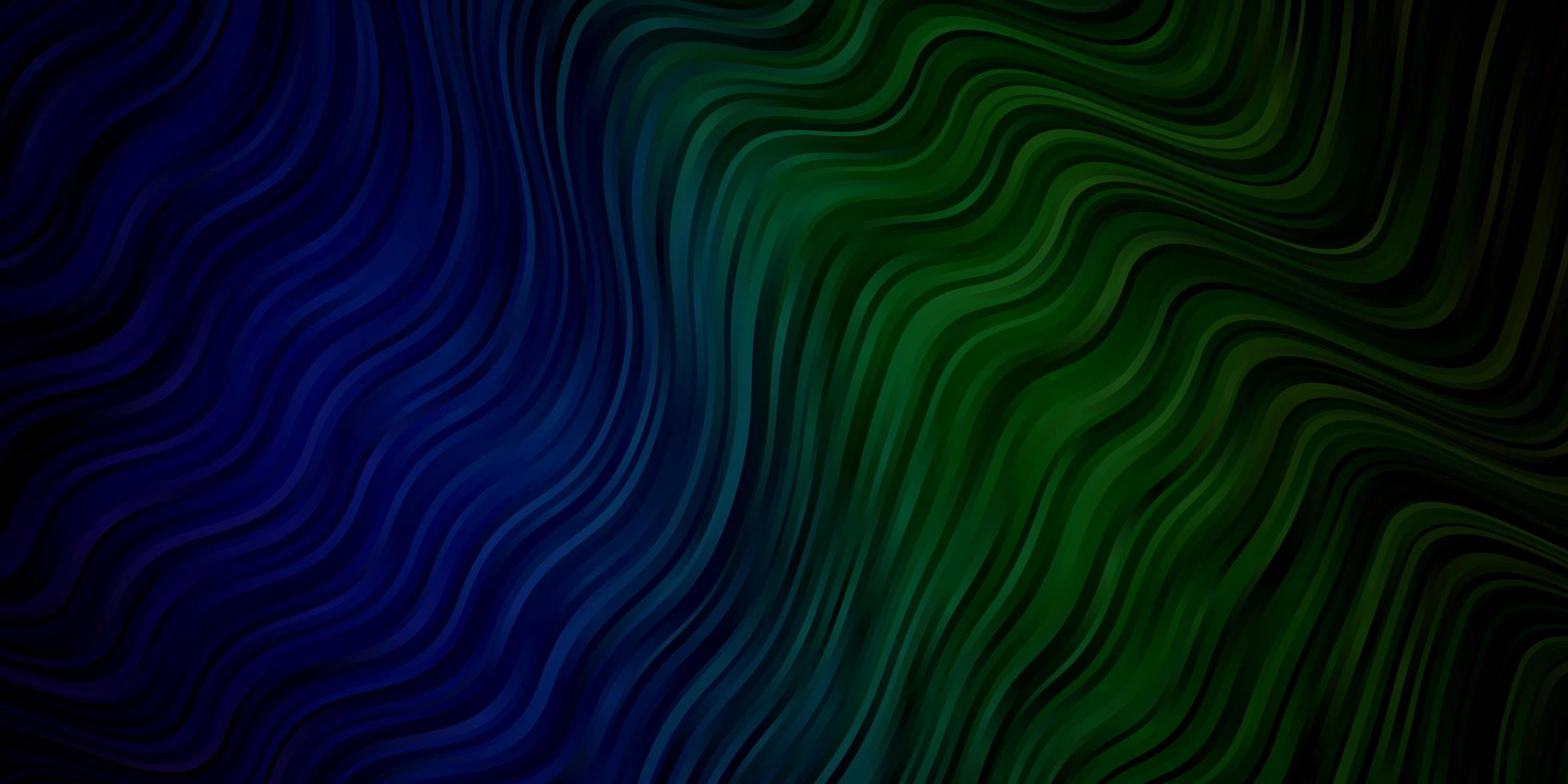 textura vector azul, verde claro com arco circular.