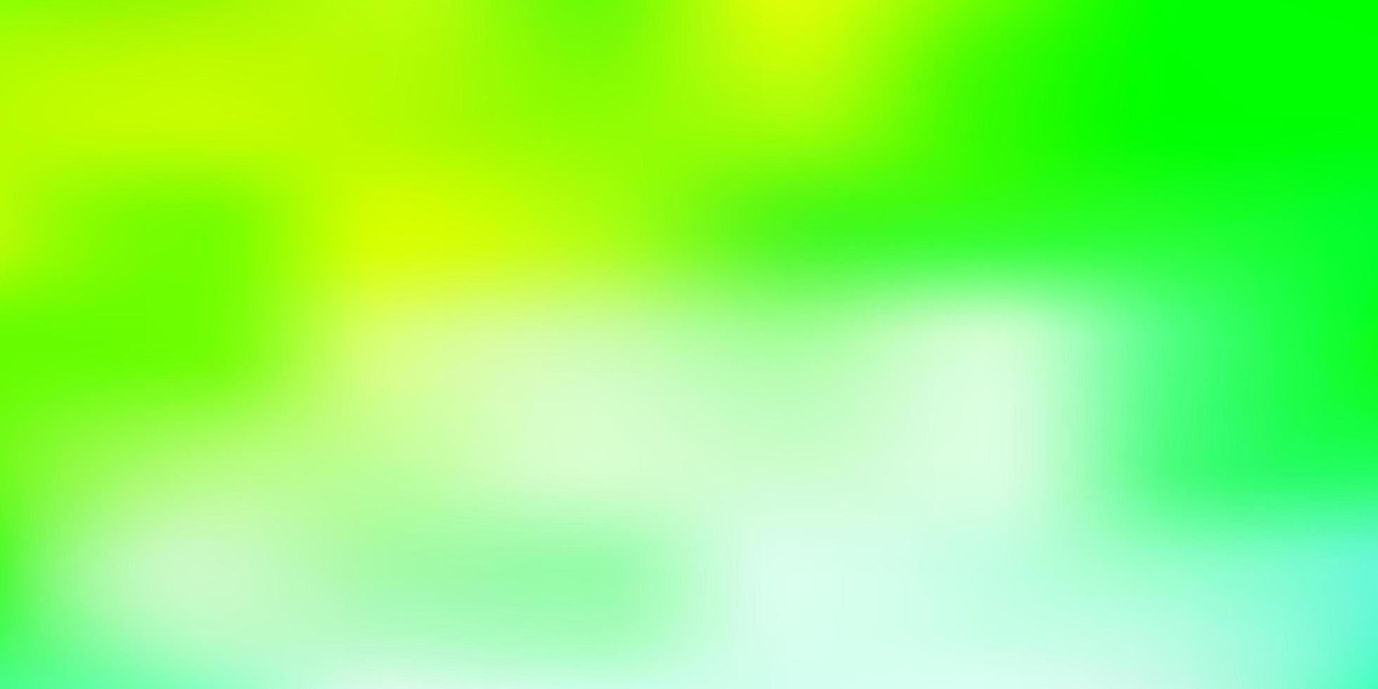luz azul, verde vetor turva padrão.