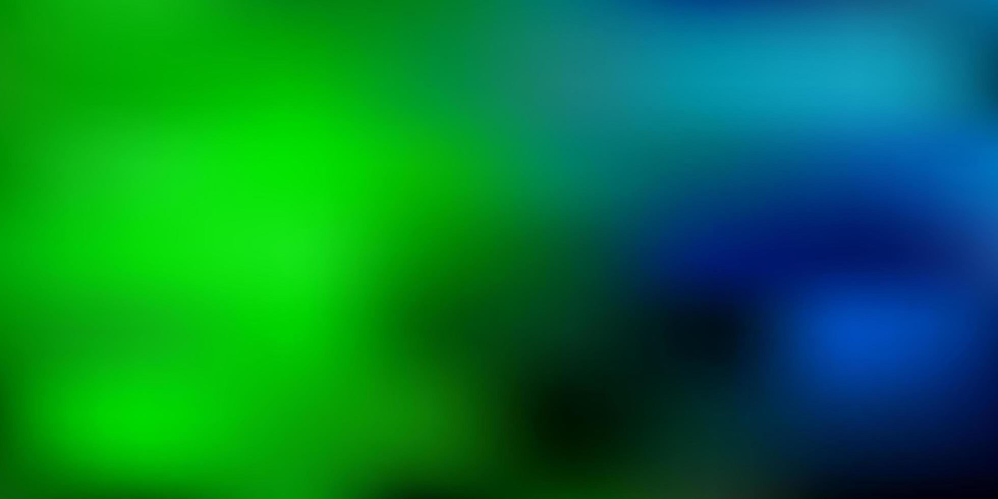 luz azul, verde abstrato do vetor desfocar o fundo.