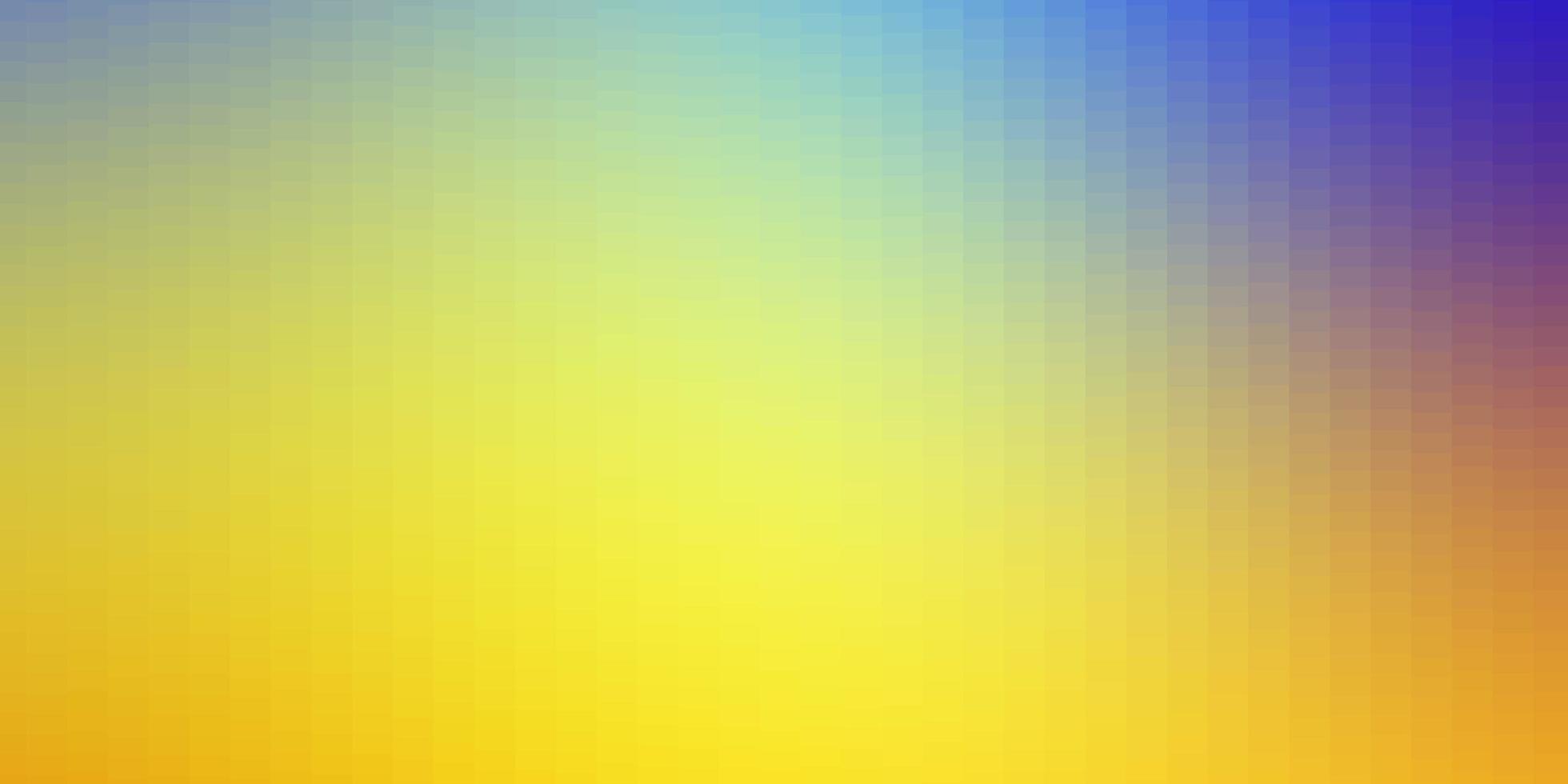 modelo de vetor azul e amarelo claro com retângulos.