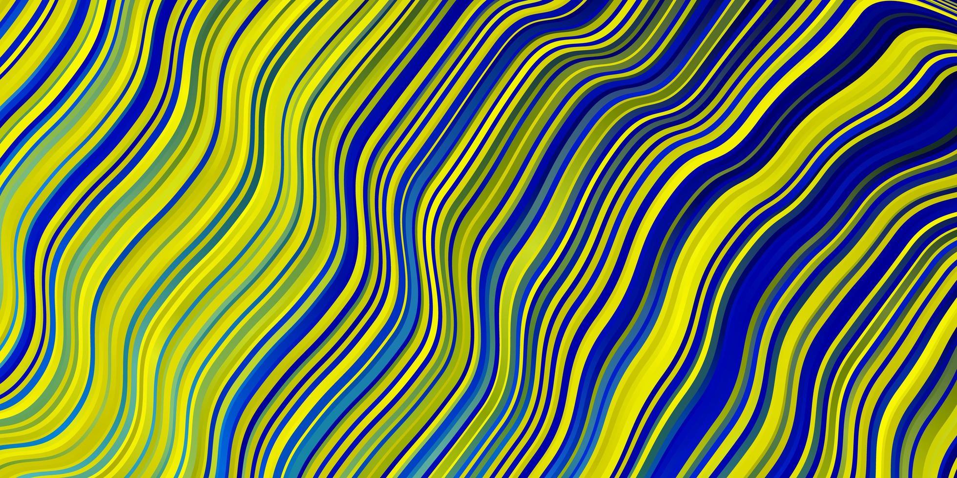 fundo vector azul e amarelo claro com linhas.