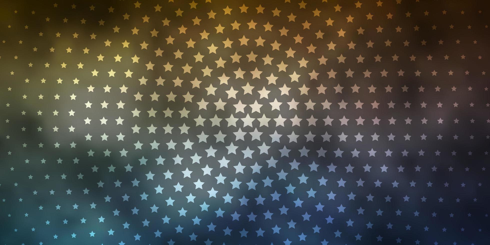 textura vector azul e vermelho claro com belas estrelas.