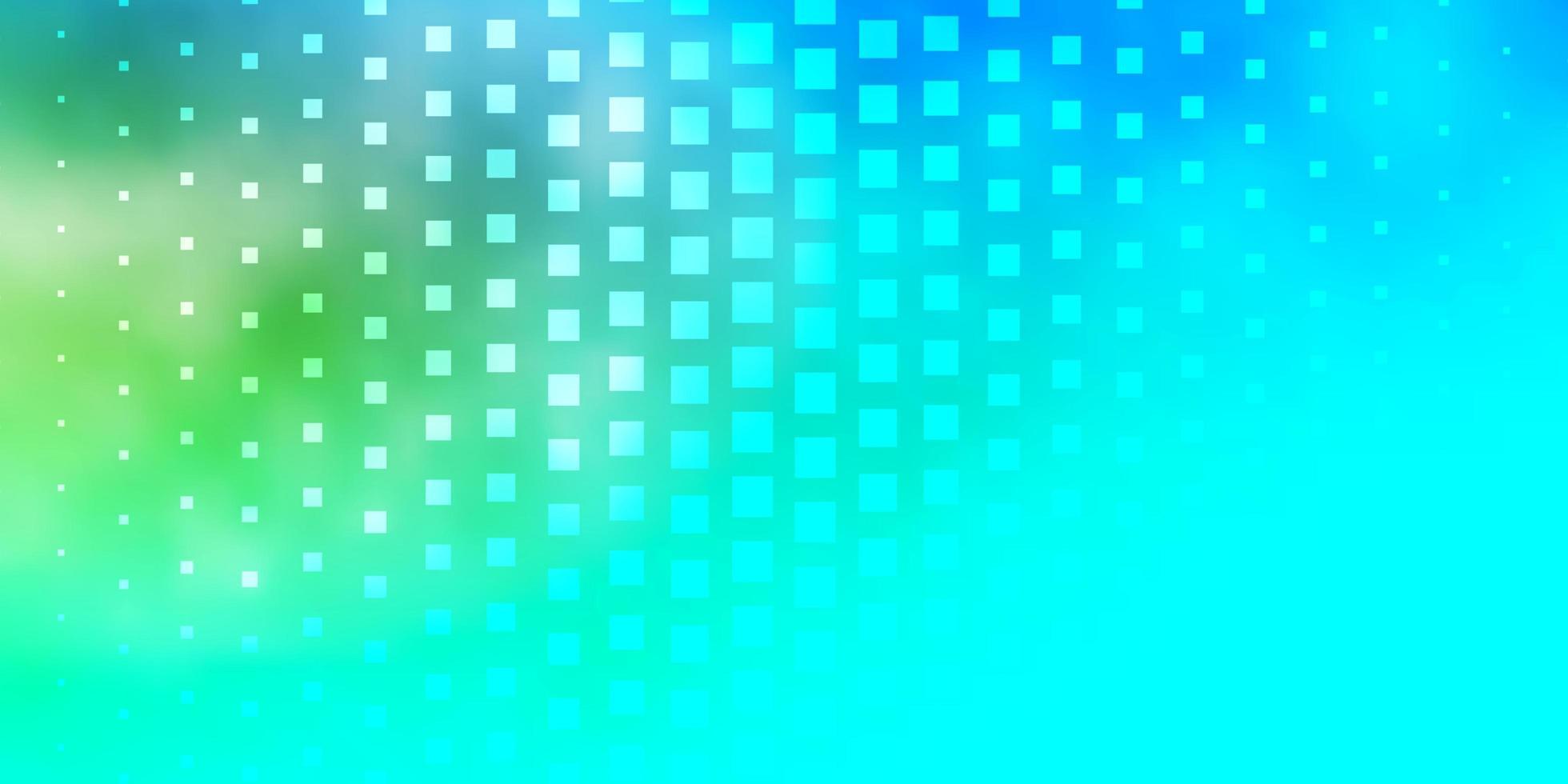 azul claro, padrão de vetor amarelo em estilo quadrado.