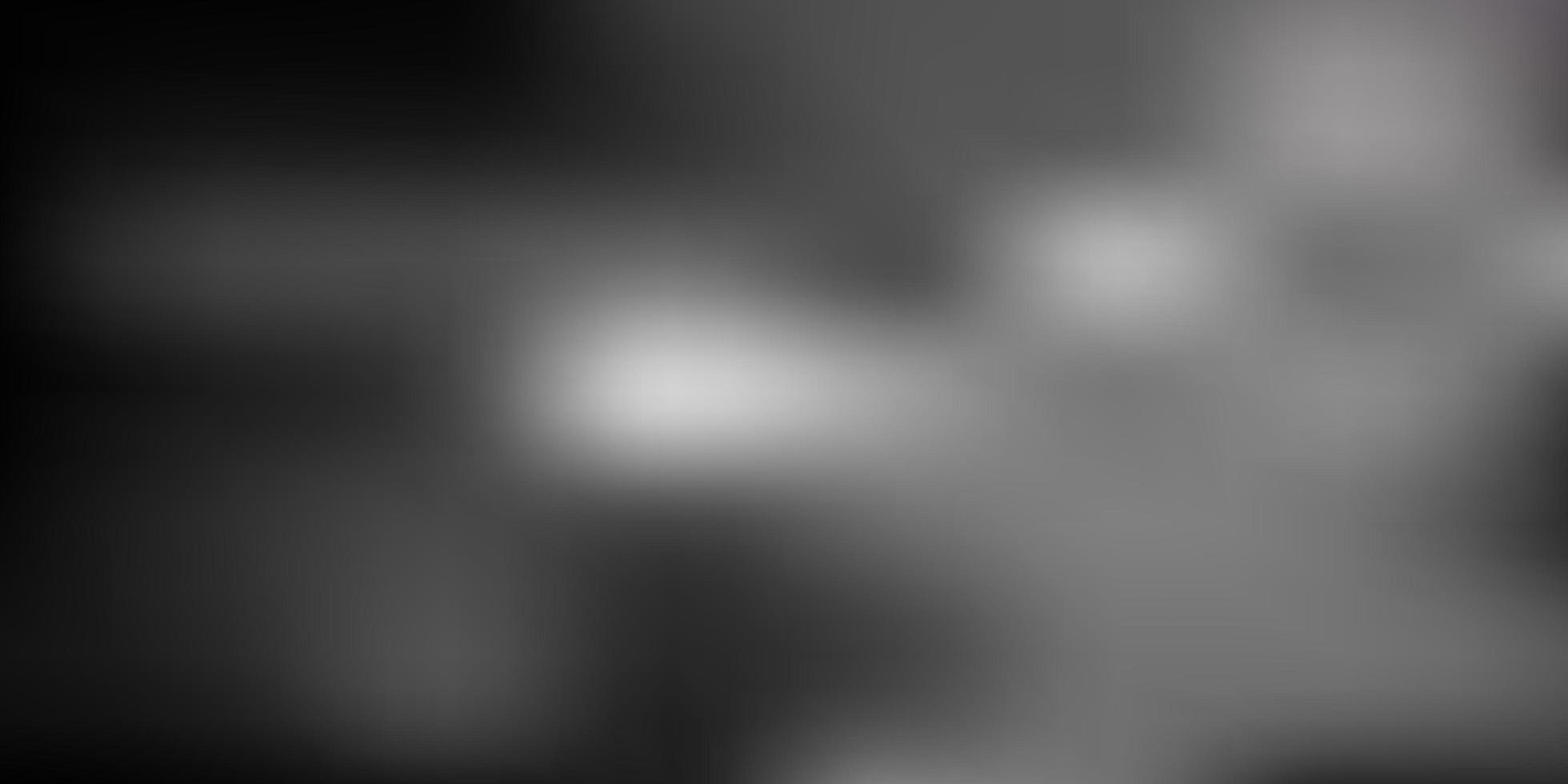layout de borrão abstrato de vetor cinza escuro.