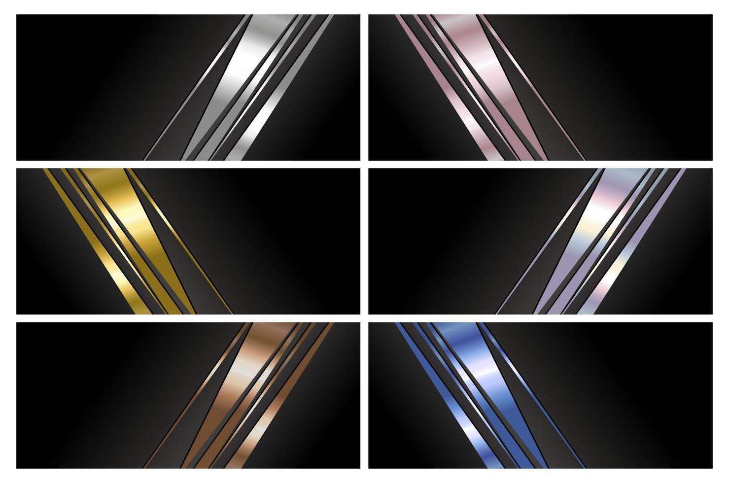 design de fundo abstrato de banner de luxo com ilustração vetorial de espaço de cópia vetor