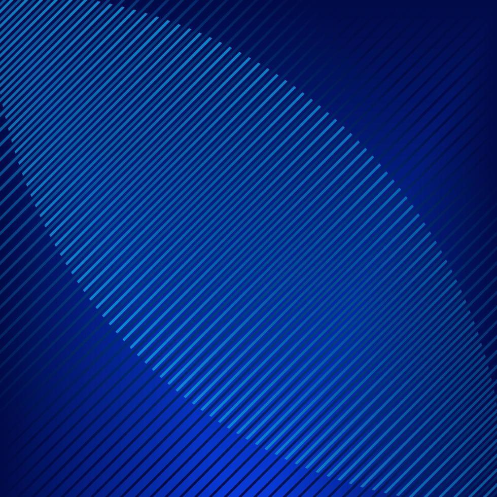 linha de tira azul abstrata brilhante fundo vetor