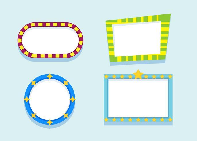 Vetores Funky Frames