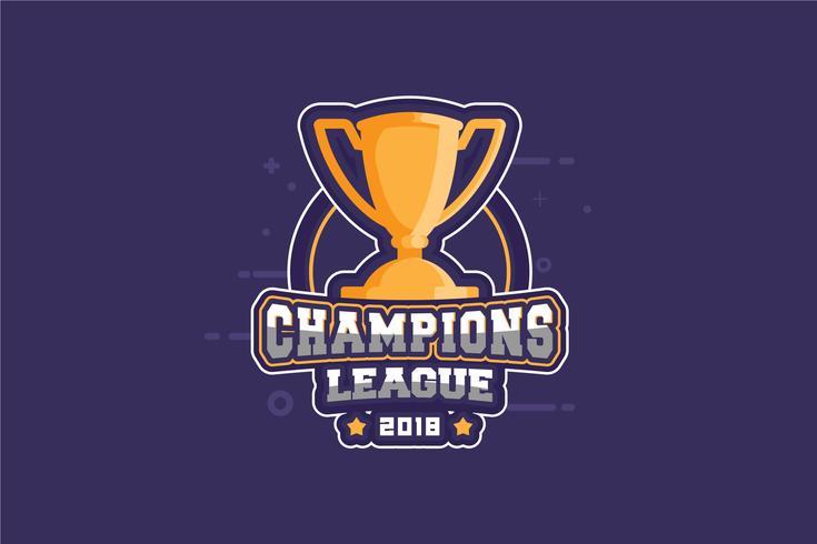 Ilustração do campeão vetor