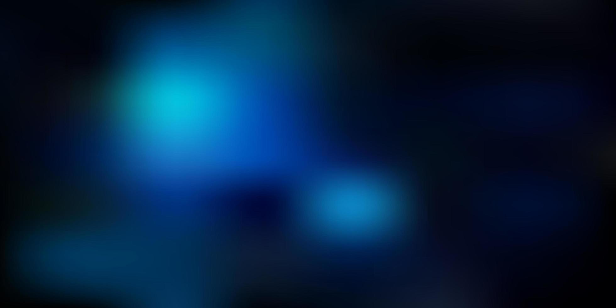 modelo de desfoque de gradiente de vetor azul escuro.
