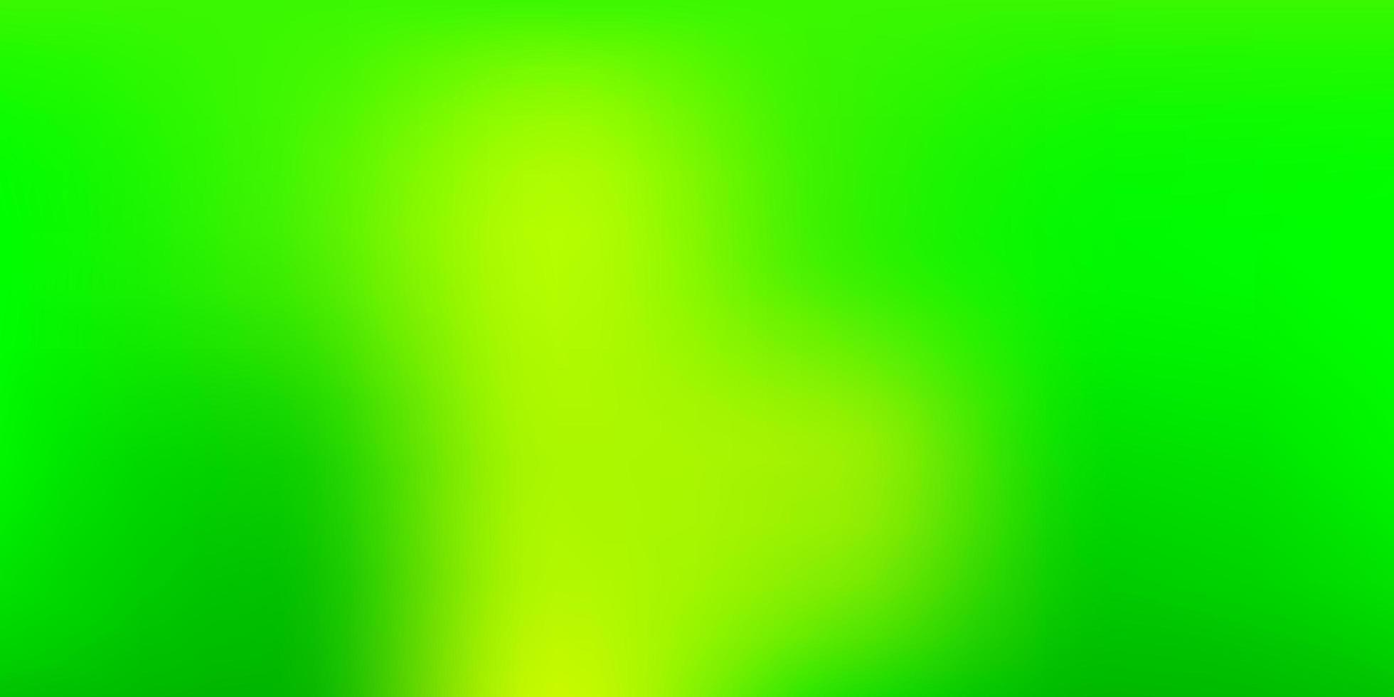 layout turva do vetor verde e amarelo claro.