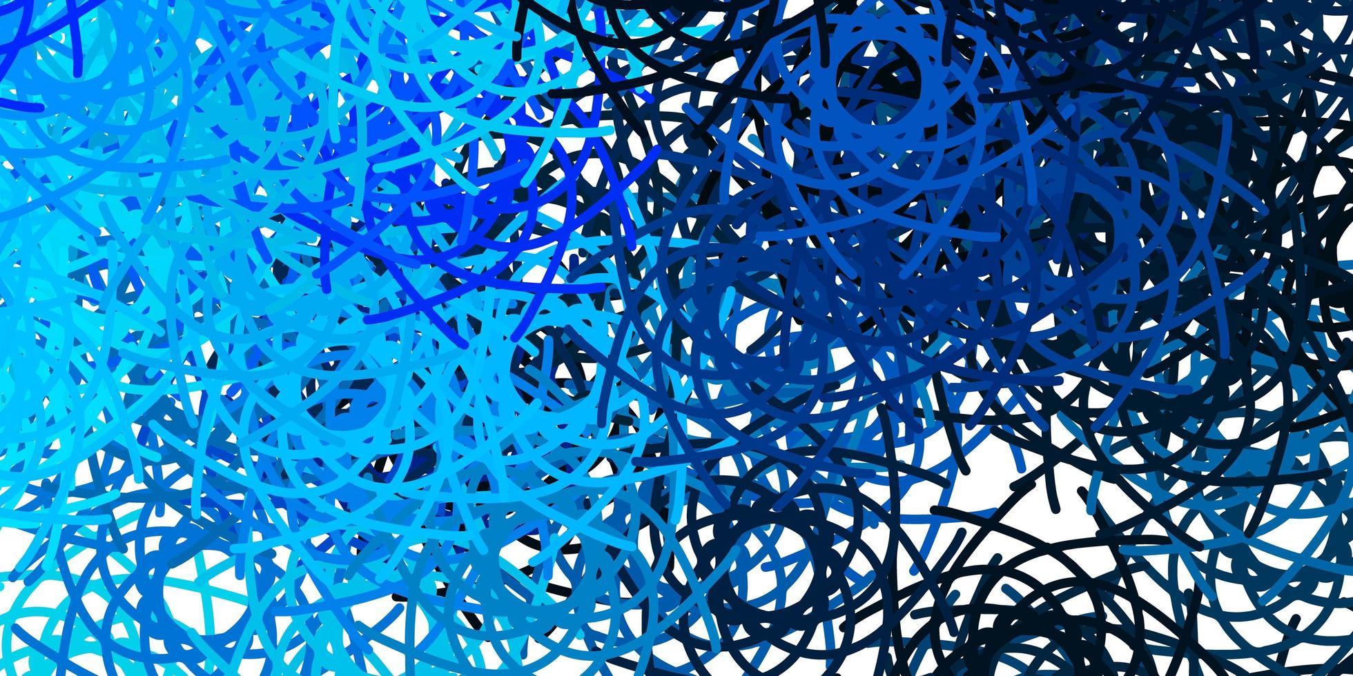 padrão azul claro com formas abstratas vetor