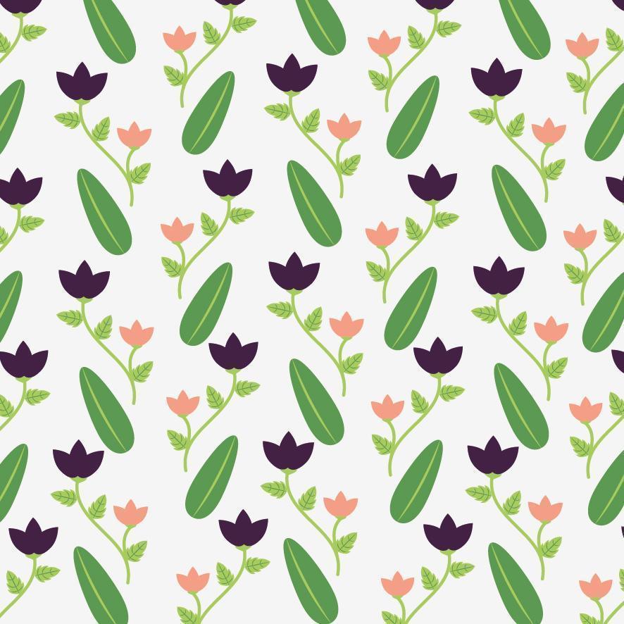 lindo fundo floral decorativo vetor