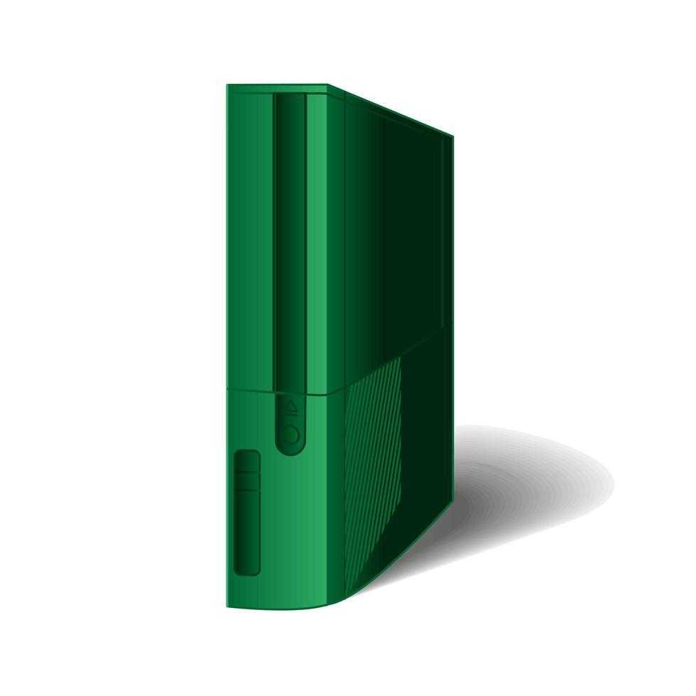 consola de jogos para jogadores e jogos vetor