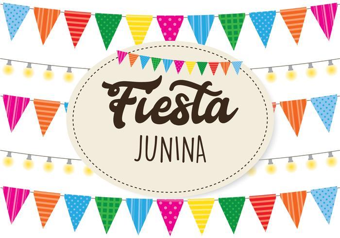 Fundo Festa Junina vetor