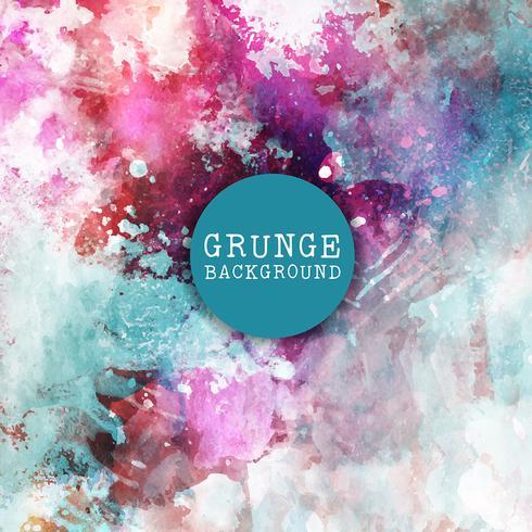 Grunge pintura de fundo vetor