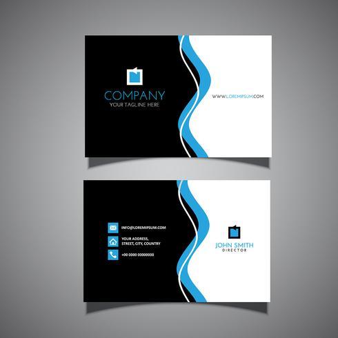 Design de cartão vetor