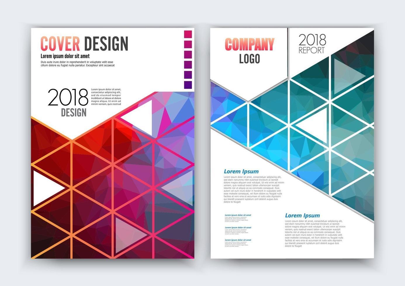 modelo de layout do projeto do folheto do vetor do folheto, tamanho A4. design curvo, layout elegante com espaço para texto e imagens.