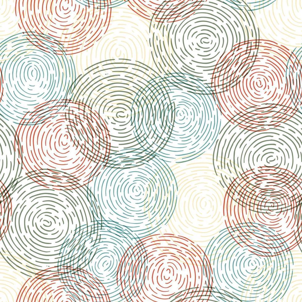 padrão de círculo abstrato vetor